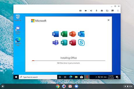 Parallels Desktop for Chrome OS1