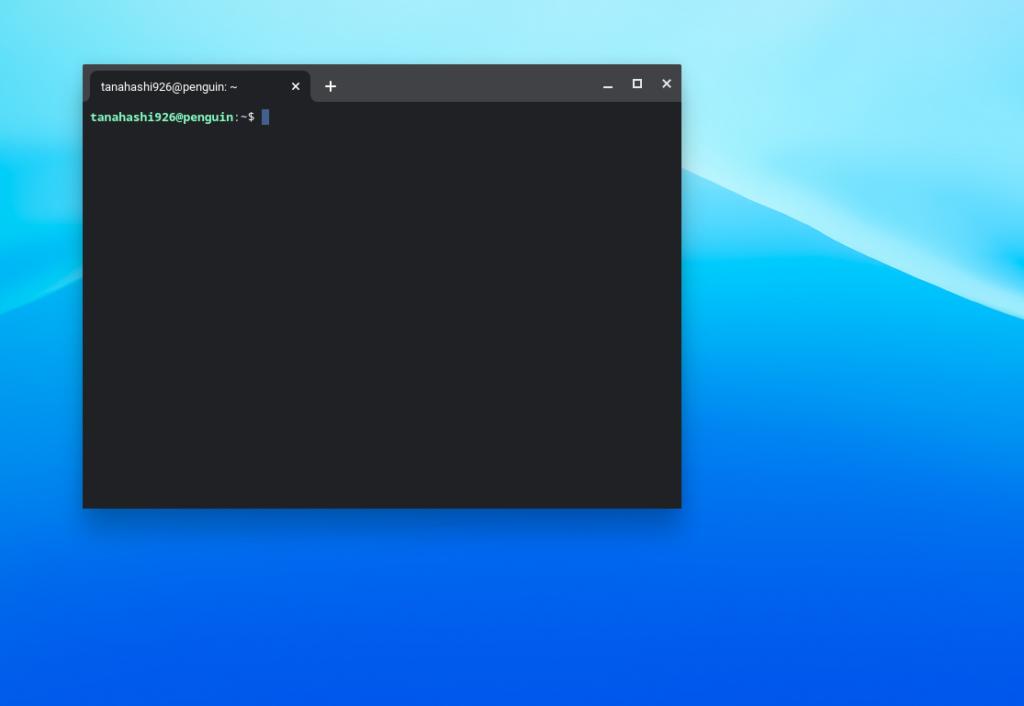 ChromebookでLinux